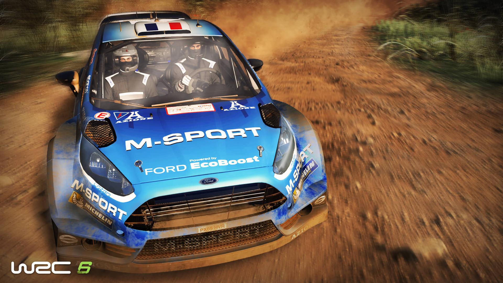 『WRC 6』ゲーム画面