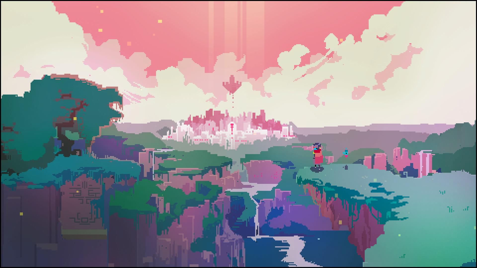 『Hyper Light Drifter』ゲーム画面