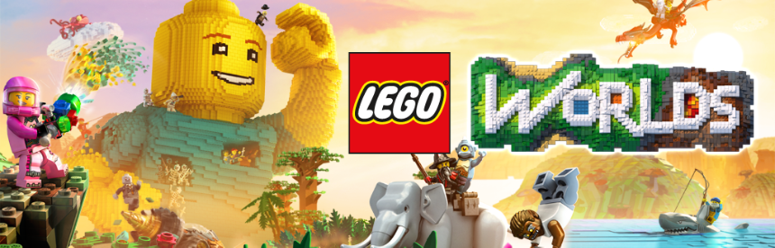 LEGO ワールド 目指せマスタービルダー バナー画像