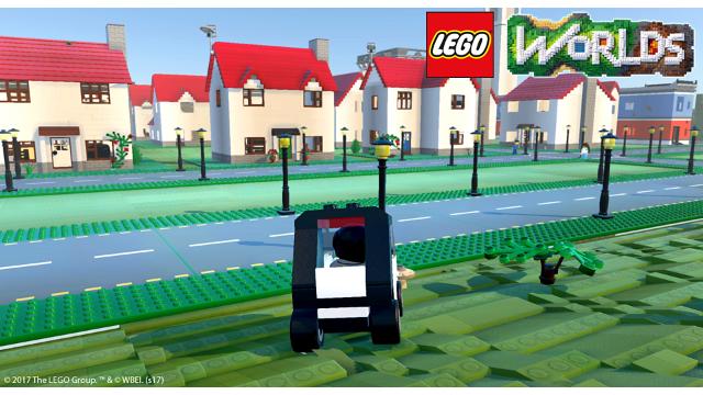 LEGO ワールド 目指せマスタービルダー ゲーム画面1