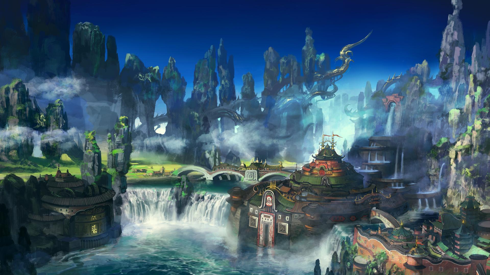『ファイナルファンタジーXIV: 紅蓮のリベレーター』ゲーム画面
