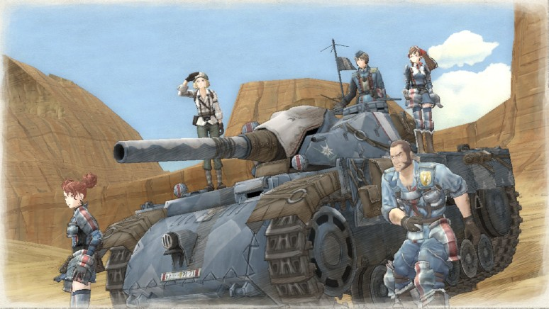 戦場のヴァルキュリアリマスター:イメージ画像1