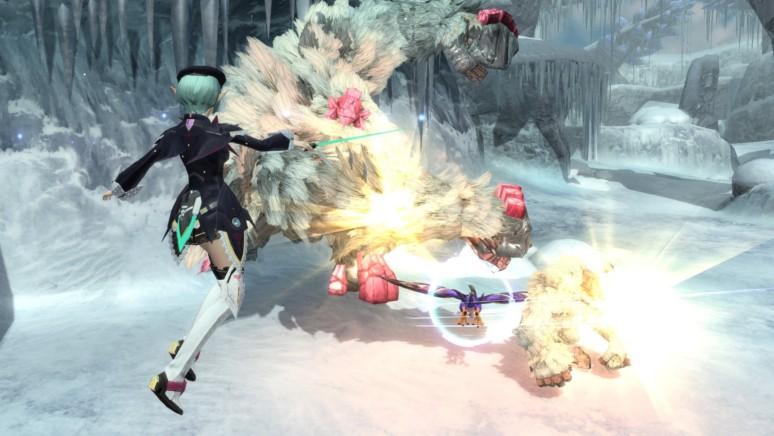 『ファンタシースターオンライン2 エピソード4 デラックスパッケージ』ゲーム画面