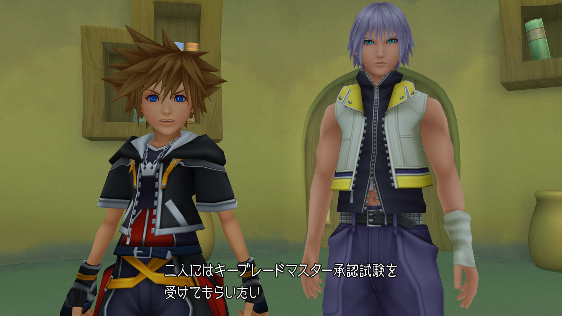 『KINGDOM HEARTS HD 2.8 Final Chapter Prologue』ゲーム画面