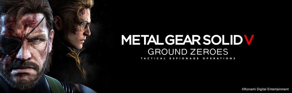 『METAL GEAR SOLID V: GROUND ZEROES』バナー
