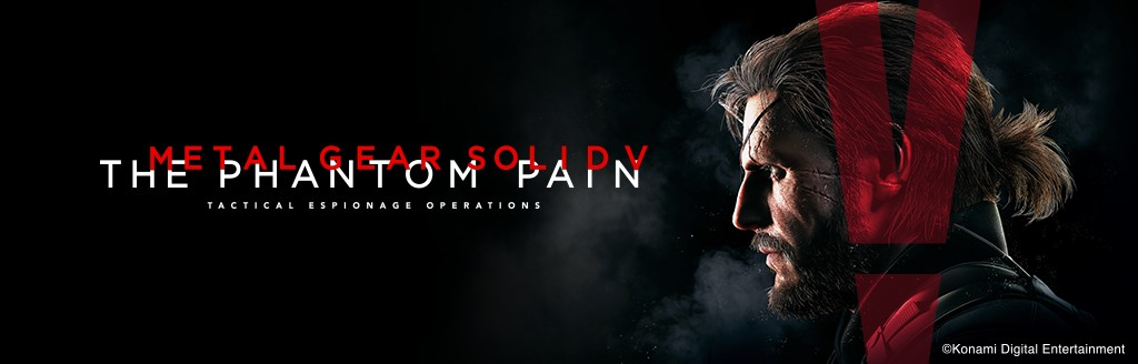 『METAL GEAR SOLID V: THE PHANTOM PAIN』バナー
