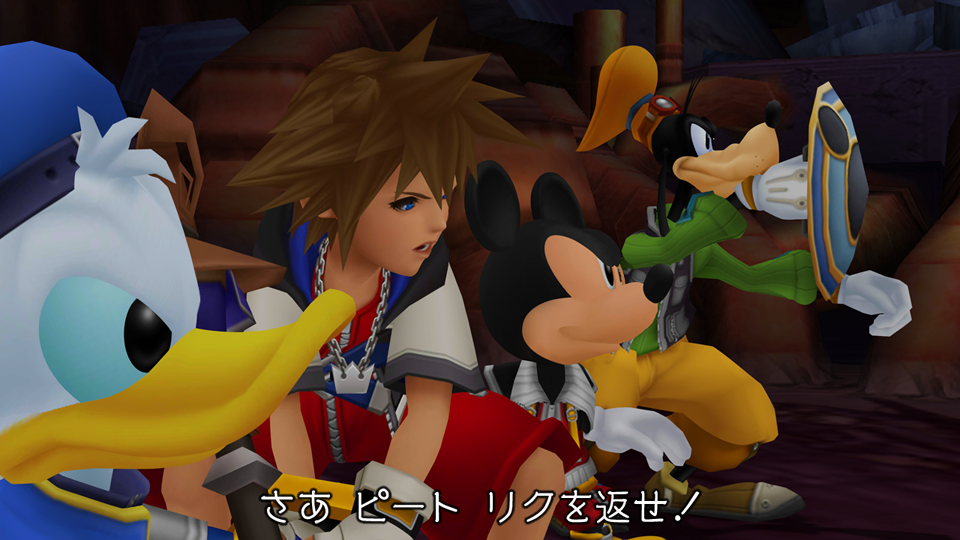 『KINGDOM HEARTS -HD 1.5+2.5 ReMIX-』ゲーム画面
