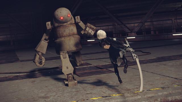 NieR:Automata ゲーム画面1