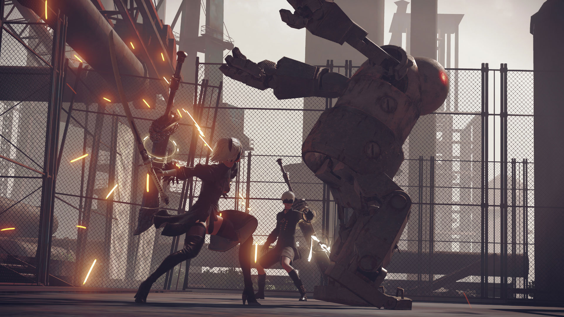 『NieR:Automata』ゲーム画面