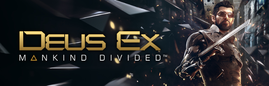 Deus Ex: Mankind Divided バナー画像