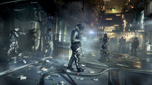 Deus Ex: Mankind Divided ゲーム画面4