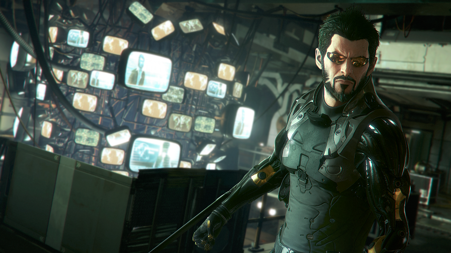 『Deus Ex: Mankind Divided』ゲーム画面