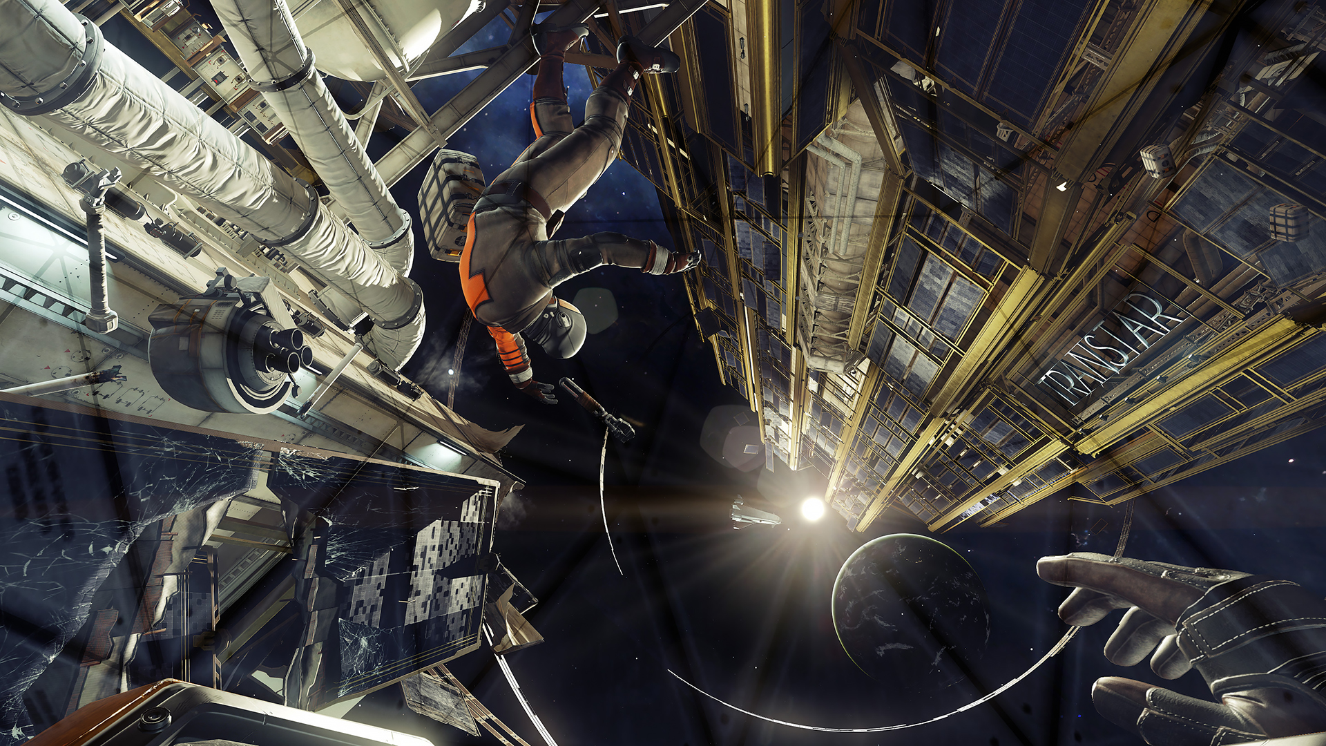 『PREY』ゲーム画面