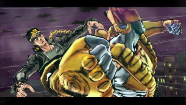 『ジョジョの奇妙な冒険 アイズオブヘブン』ゲーム画面