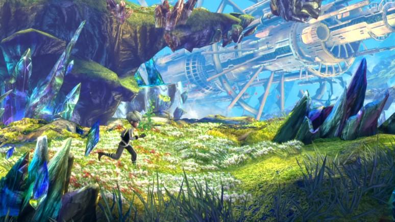 『イグジストアーカイヴ』ゲーム画面
