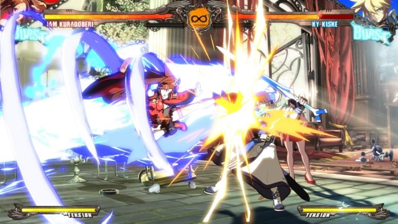 『GUILTY GEAR Xrd -REVELATOR-』ゲーム画面