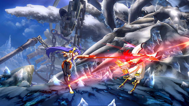 BLAZBLUE CENTRALFICTION ゲーム画面6