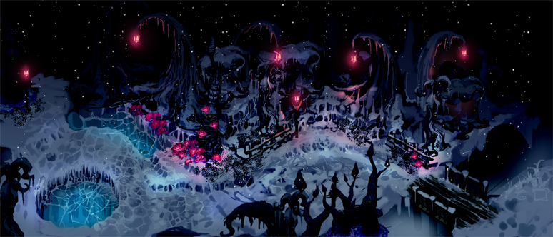 『魔女と百騎兵2』ゲーム画面