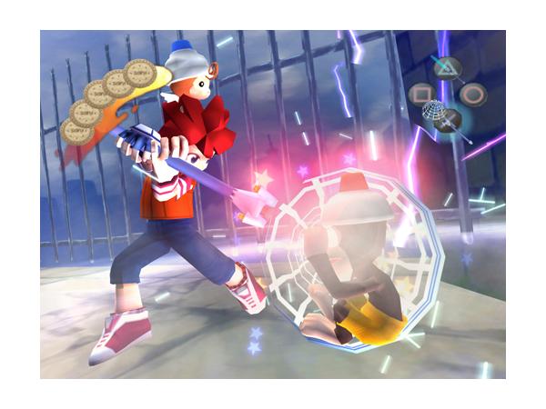 サルゲッチュ2 ゲーム画面2