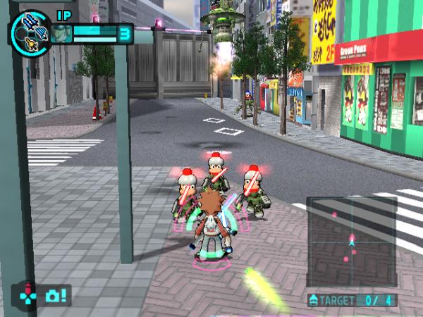 サルゲッチュ ミリオンモンキーズ PlayStation 2 the Best ゲーム画面1