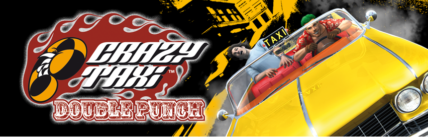Crazy Taxi Double Punch バナー画像