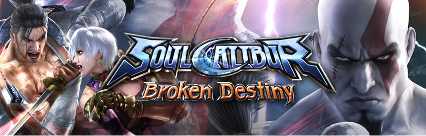 ソウルキャリバー Broken Destiny PSP® the Best バナー画像
