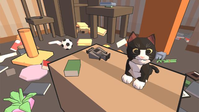 Catlateral Damage(にゃんこラテラル・ダメージ) ゲーム画面1