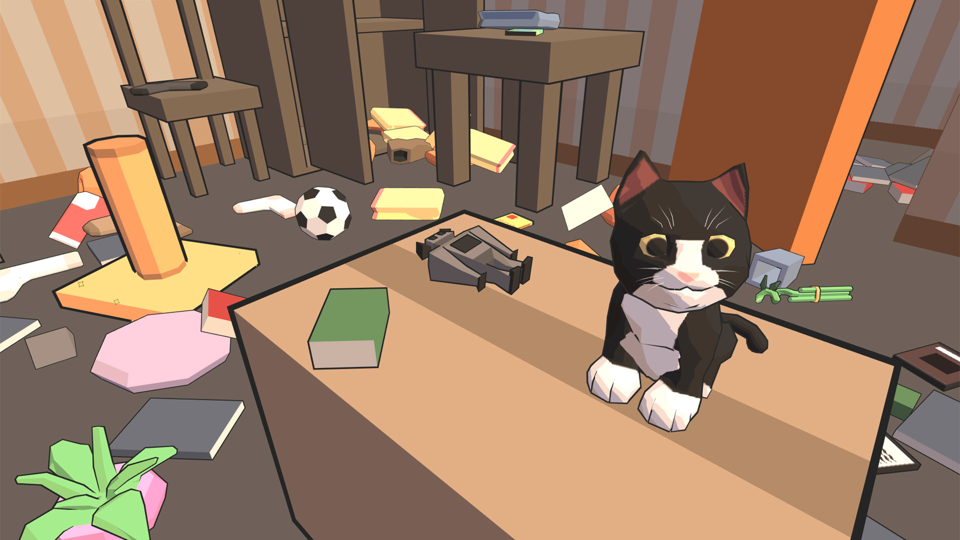 『Catlateral Damage(にゃんこラテラル・ダメージ)』ゲーム画面