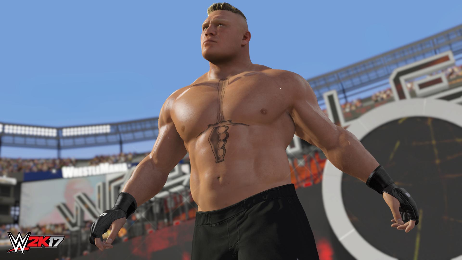 『WWE 2K17(英語版)』ゲーム画面