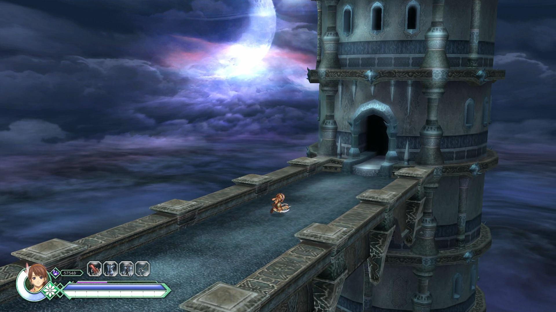 『Ys Origin』ゲーム画面