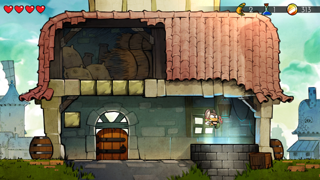 Wonder Boy: The Dragon's Trap ゲーム画面12