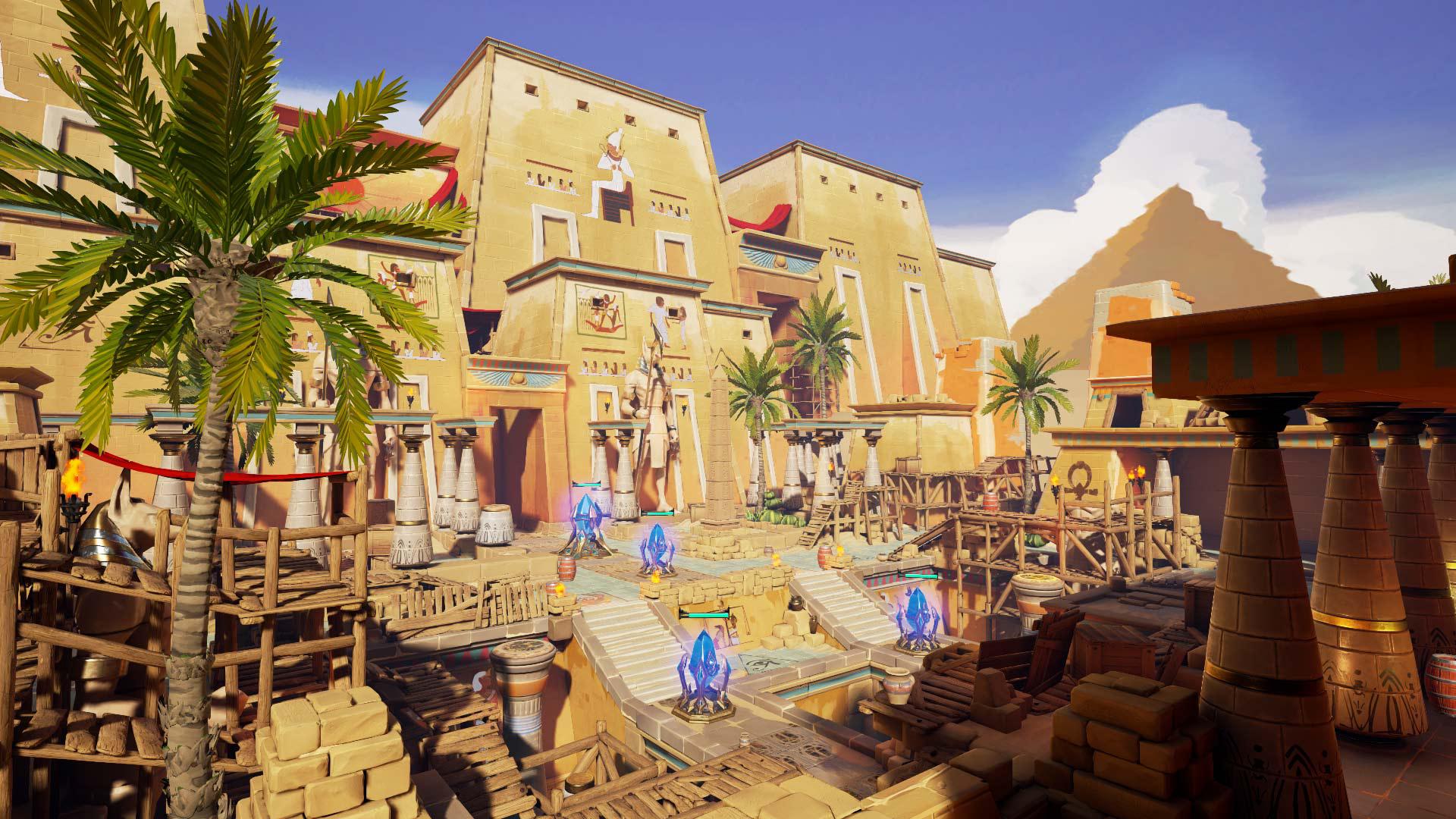 『Ancient Amuletor』ゲーム画面
