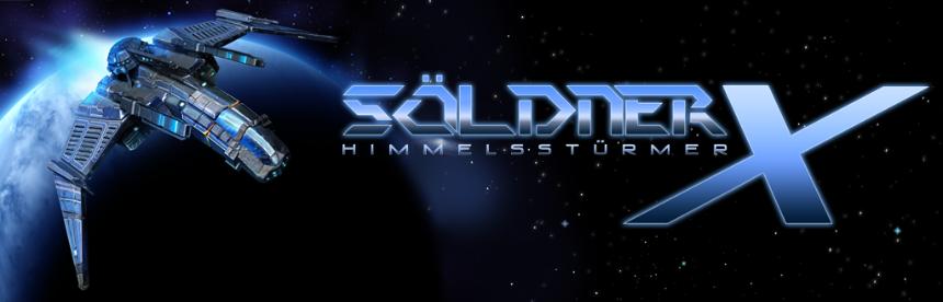 Soldner-X: Himmelssturmer バナー画像