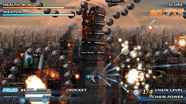 Soldner-X: Himmelssturmer ゲーム画面7