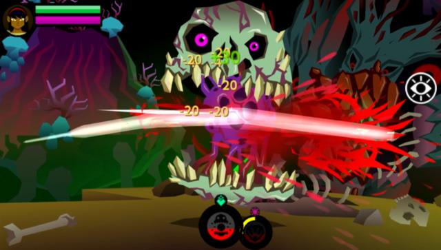Severed(セヴァード) ゲーム画面3