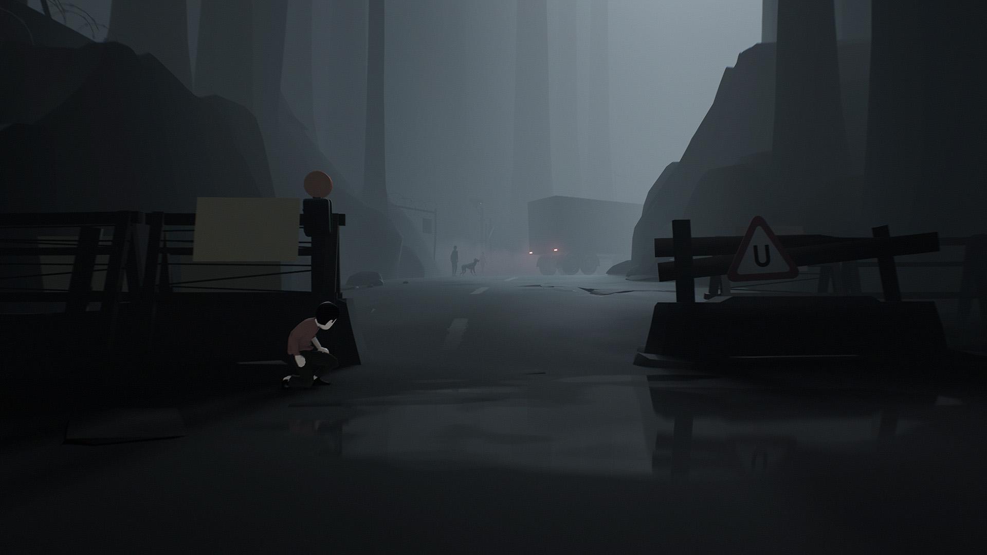 『INSIDE』ゲーム画面
