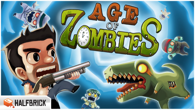 Age Of Zombies ゲーム画面1