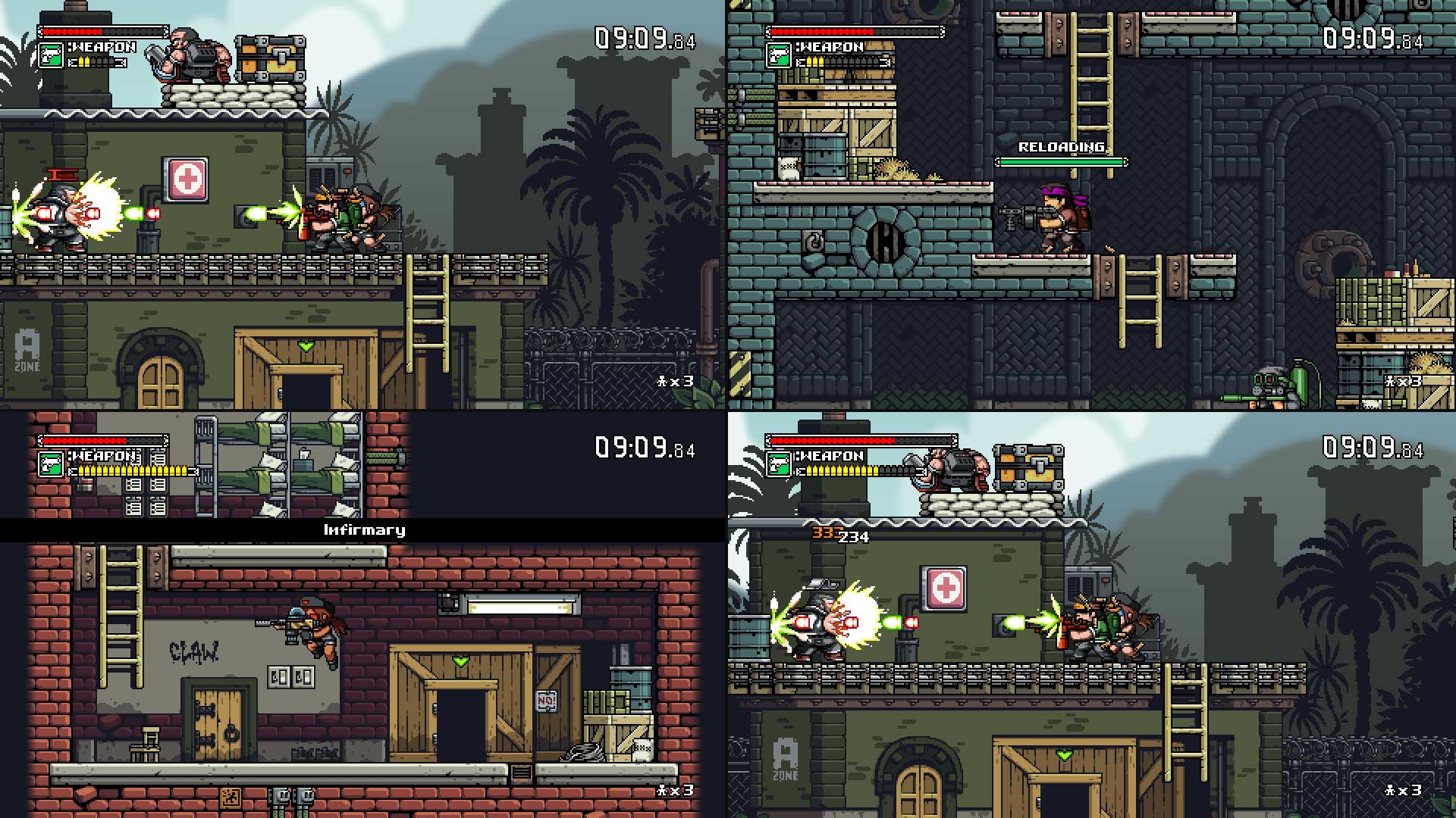 『Mercenary Kings (マーセナリーキングス)』ゲーム画面
