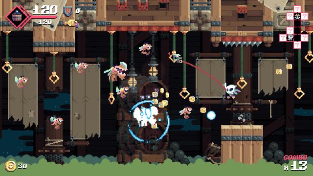 Flinthook(フリントフック) ゲーム画面1