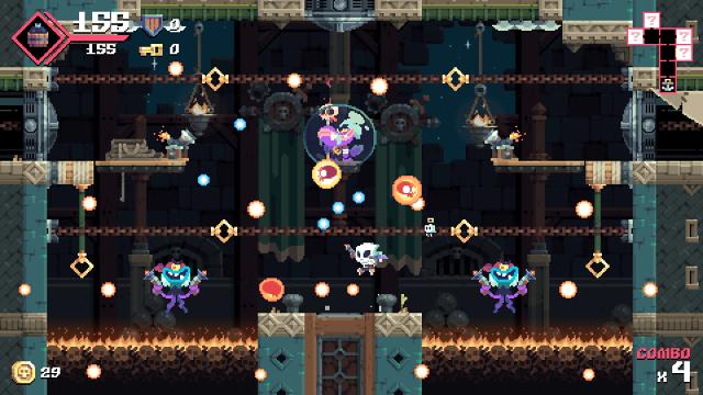 Flinthook(フリントフック) ゲーム画面2