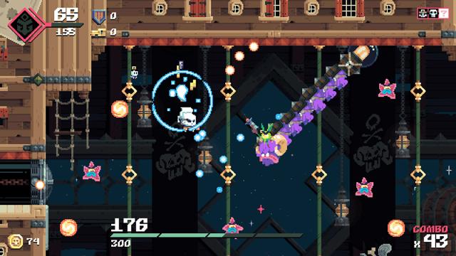 Flinthook(フリントフック) ゲーム画面4