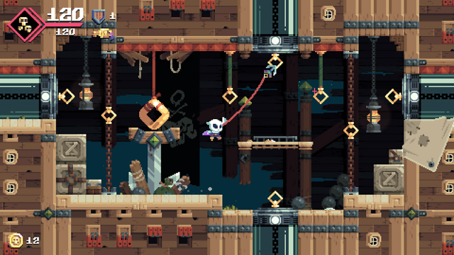 Flinthook(フリントフック) ゲーム画面5