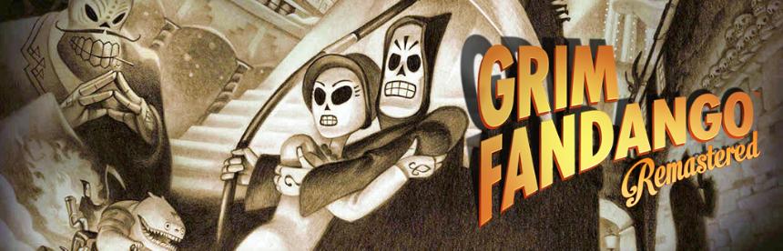 Grim Fandango Remastered バナー画像