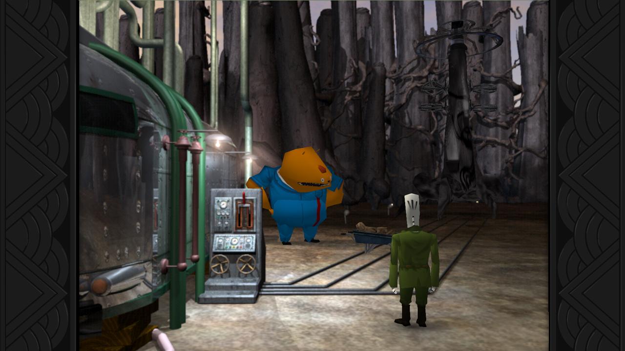 『Grim Fandango Remastered』ゲーム画面