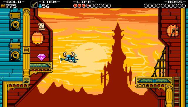ショベルナイト ゲーム画面1