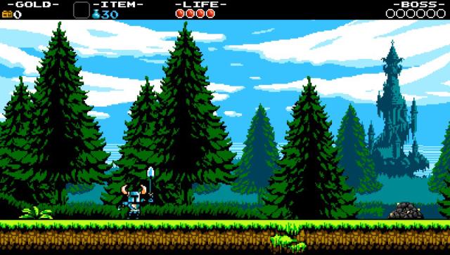 ショベルナイト ゲーム画面2