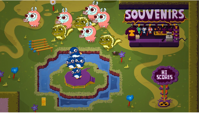 Super Exploding Zoo ゲーム画面7