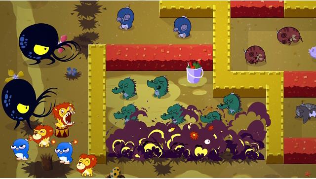 Super Exploding Zoo ゲーム画面9