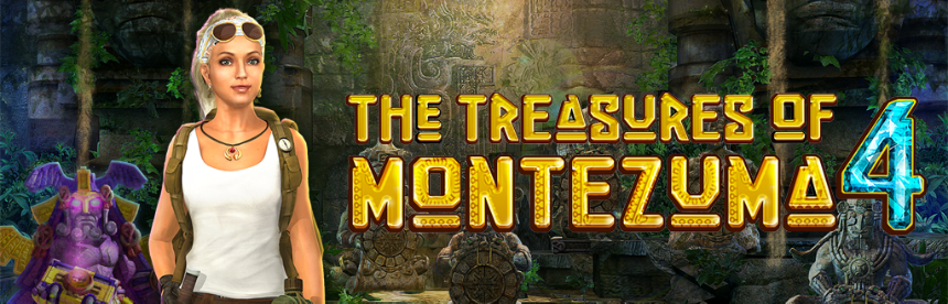 The Treasures of Montezuma 4 バナー画像