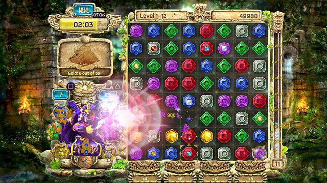 The Treasures of Montezuma 4 ゲーム画面2